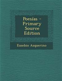 Poesías - Primary Source Edition