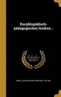 GER-ENCYKLOPADISCH-PADAGOGISCH