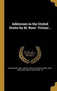 ADDRESSES IN THE US BY M RENE