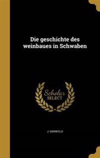 GER-GESCHICHTE DES WEINBAUES I