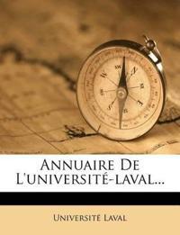 Annuaire De L'université-laval...