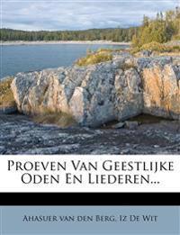 Proeven Van Geestlijke Oden En Liederen...
