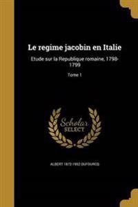 FRE-REGIME JACOBIN EN ITALIE