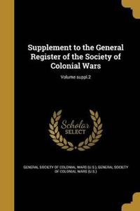 SUPPLEMENT TO THE GENERAL REGI