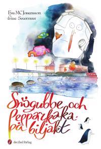 Snögubbe och Pepparkaka på biljakt