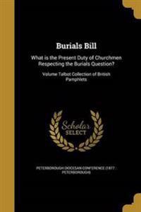 BURIALS BILL