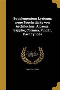 LAT-SUPPLEMENTUM LYRICUM NEUE