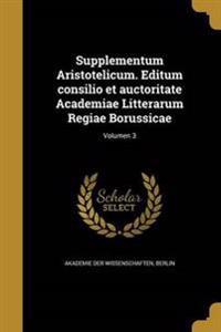 LAT-SUPPLEMENTUM ARISTOTELICUM