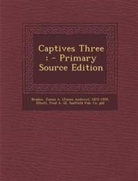 Captives Three : - Primary Source Edition