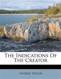 The Indications Of The Creator
