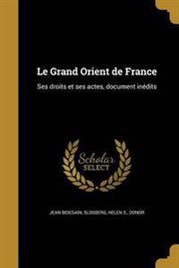 FRE-GRAND ORIENT DE FRANCE