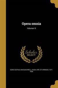 LAT-OPERA OMNIA VOLUMEN 9