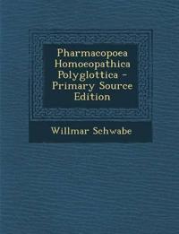 Pharmacopoea Homoeopathica Polyglottica