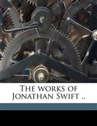 The works of Jonathan Swift .. Volume 3