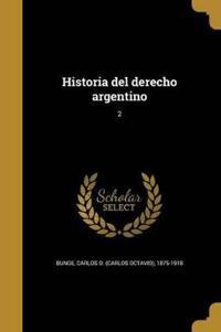 SPA-HISTORIA DEL DERECHO ARGEN