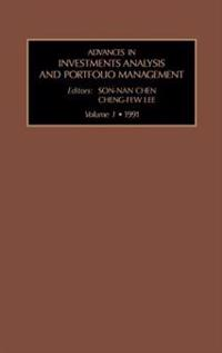 Advances in Investments Analysis and Portfolio Management