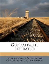 Geodätische Literatur