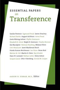 Essential Papers on Transference