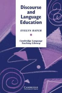 Discourse and Language Education
