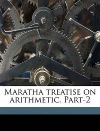 Maratha treatise on arithmetic. Part-2