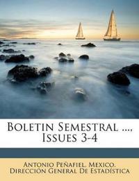 Boletin Semestral ..., Issues 3-4