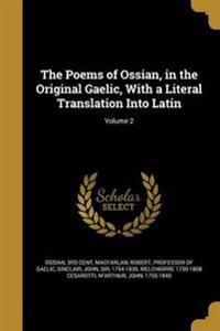 POEMS OF OSSIAN IN THE ORIGINA