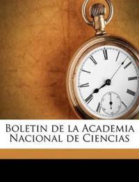 Boletin de la Academia Nacional de Ciencias Volume t. 2, n. 4