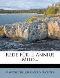Rede Für T. Annius Milo...