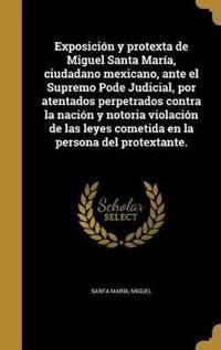 SPA-EXPOSICION Y PROTEXTA DE M