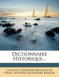 Dictionnaire Historique...