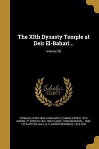 XITH DYNASTY TEMPLE AT DEIR EL