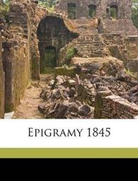 Epigramy 1845