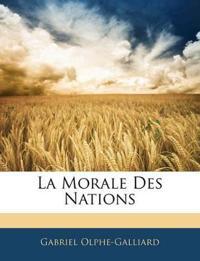 La Morale Des Nations