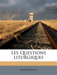 Les Questions liturgiques Volume V.05-06  1919-1921