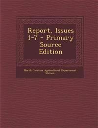 Report, Issues 1-7
