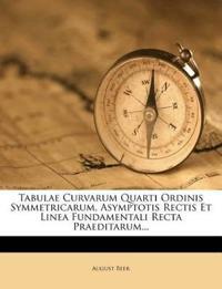 Tabulae Curvarum Quarti Ordinis Symmetricarum, Asymptotis Rectis Et Linea Fundamentali Recta Praeditarum...
