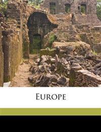 Europe Volume 1