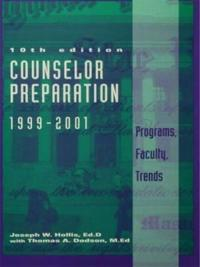 Counselor Preparation 1999-2001