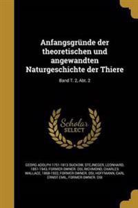 GER-ANFANGSGRUNDE DER THEORETI
