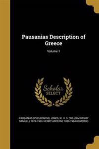 PAUSANIAS DESCRIPTION OF GREEC