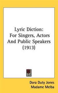 Lyric Diction