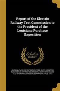 REPORT OF THE ELECTRIC RAILWAY