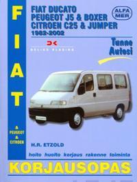 Fiat Ducato, Peugeot J5 amp; Boxer Citroen C25 amp; Jumper 1982-2002
