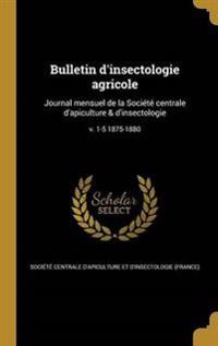 FRE-BULLETIN DINSECTOLOGIE AGR