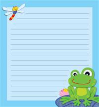 Funky Frog Notepad