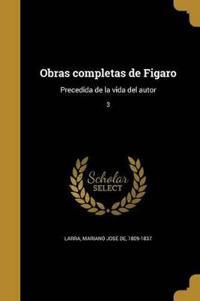 SPA-OBRAS COMPLETAS DE FIGARO