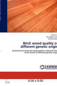 Birch Wood Quality of Different Genetic Origin