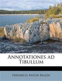Annotationes ad Tibullum