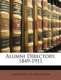 Alumni Directory, 1849-1911