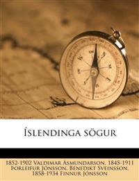 Íslendinga sögur Volume 28-30